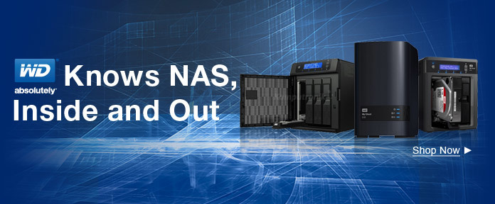 WD Knows NAS, Inside and Out