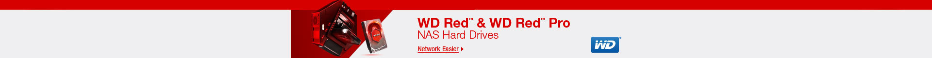WD Red & WD Red Pro NAS Hard Drives