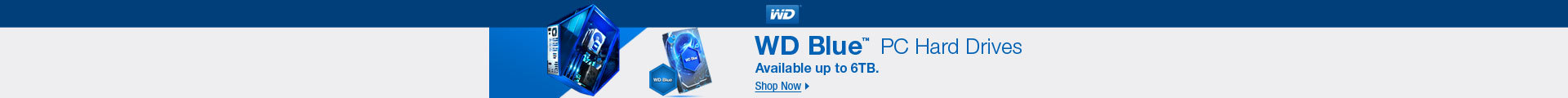 WD Blue PC Hard Drives