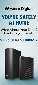 Western Digital You're Safely at Home