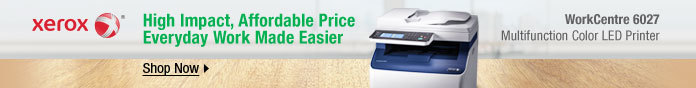 Xerox: high impact, affordable price everyday work made easier