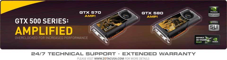 GTX 500 Series: AMPLIFIED